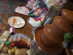 Chocolate Fountain and sweets